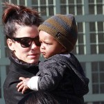 Sandra Bullock Gifts Baby Louis with $14,000 Andy Warhol Print