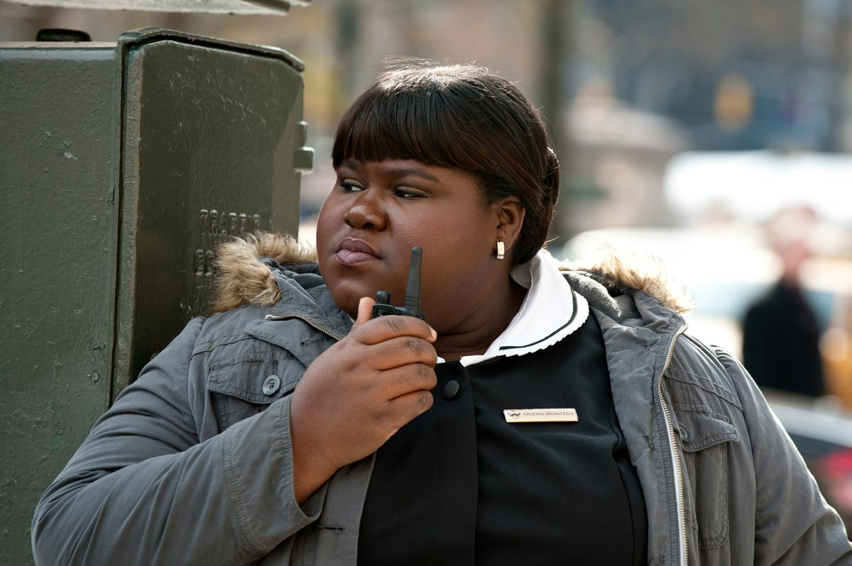 "Actress Gabourey Sidibe in a scene from Universal's ""Tower Heist"""
