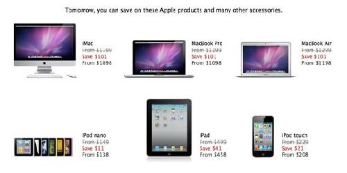apple store black friday