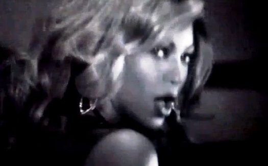 "Beyonce in the video for ""Dance for Me"""