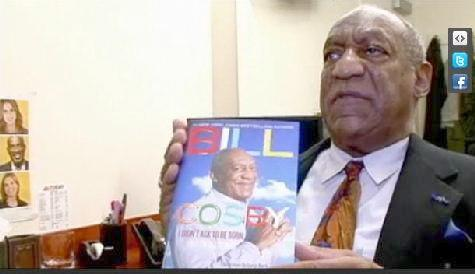 "Bill Cosby on his book ""I Didn't Ask To Be Born: But I'm Glad I Was"". He reveals that the book cover was made by his daughter Erica."