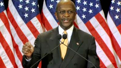 herman cain press conference