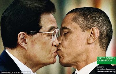 Chinese President Hu Jintao, US President Barack Obama