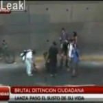 Purse Snatcher in Chile Caught and Stripped Naked (Video)