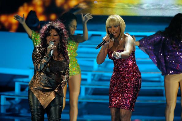 Chaka Khan and Mary J. Blige