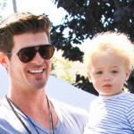 Photos: Robin Thicke Gushes Over Son Julian