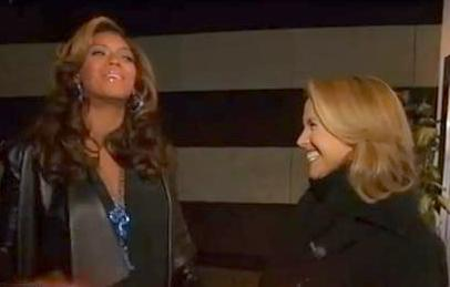 beyonce & katie couric