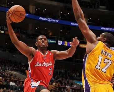 chris paul & andrew bynum