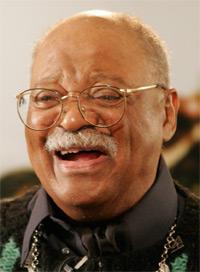Jazz trumpeter Clark Terry turns 91 today