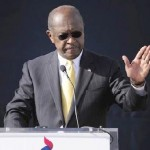 Herman Cain Puts Presidential Campaign on Hold, but He's 'Not Going Away'