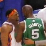 Kevin Garnett Chokes, then Chokes Bill Walker (Video)