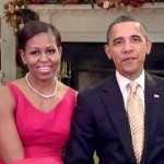 Michelle and Barack Wish Everyone Happy Holidays (and so do We!)