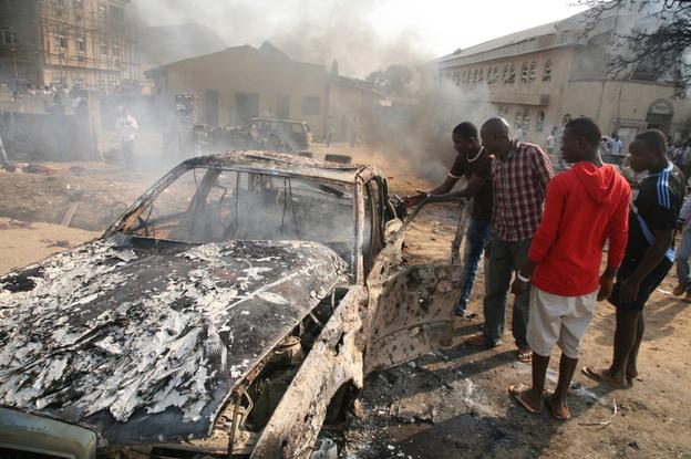 nigeria church bombing