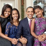 The Obamas Take New Family Photo