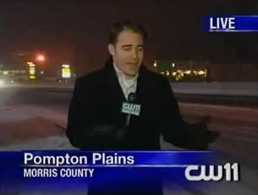 reporter flubs asphalt