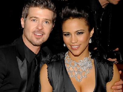 robin thicke & paula patton