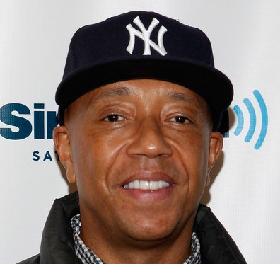 russell simmons smiling