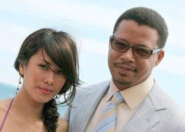 terrence howard &wife, michelle