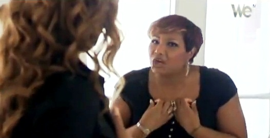 "Traci argues with Tamar in Dec. 8 episode of ""Braxton Family Values"""