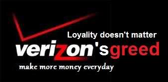 verizon greed