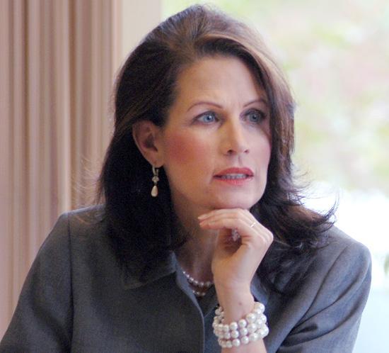Sixth District Congress-woman Michele Bachmann (R-Minn)