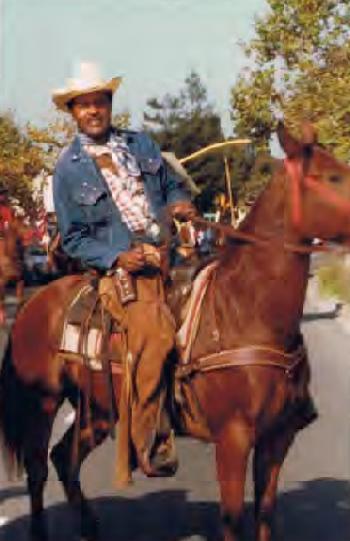 george livingston Sr (on horseback)