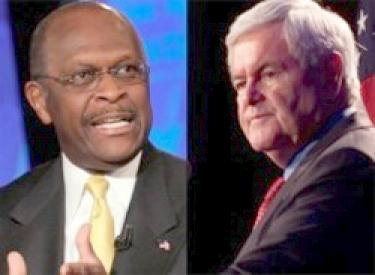 herman cain & newt gingrich