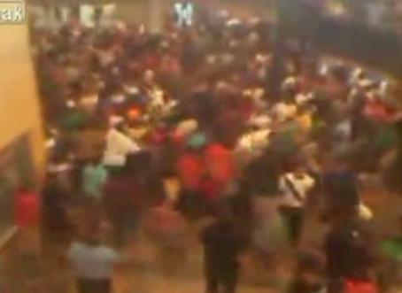 high school riot in houston