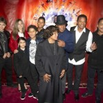 Jackson Kids to Cement Dad's Shoe, Glove Prints at Grauman's