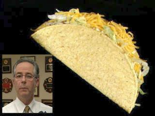 "Latino activist groups send East Haven, Ct. Mayor Joseph Maturo Jr. 500 tacos after he makes racist remark ""I might have tacos"" when asked how he would support Latino community in an interview Tuesday, January 24, 2012."