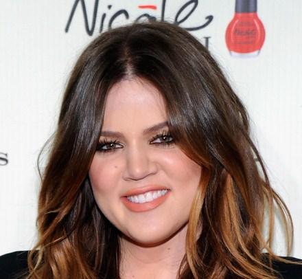 khloe kardashian closeup