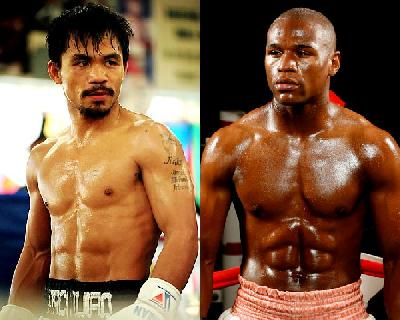 manny pacquiao & floyd mayweather jr