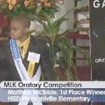 Presenting the 2012 MLK Oratory Winner: 10-year old Matthias McBride