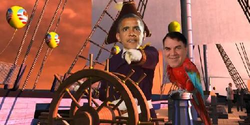 obama slave ship