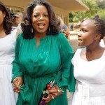 Video: 'Mom Oprah' Cries at Graduation of 'Daughters' in South Africa