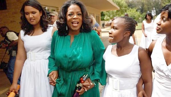oprah & graduates