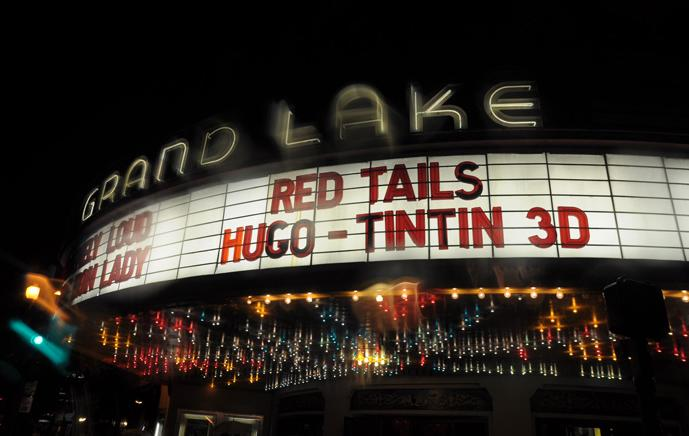 red tails marquee