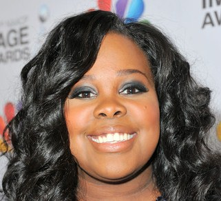 amber riley naacp closeup