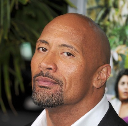 Dwayne Johnson arrives to the 'Journey 2: The Mysterious Island' Los Angeles Premiere at Grauman's Chinese Theatre on Feb. 2, 2012 in Hollywood