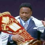 Video: Eddie Long Crowned 'King', Carried Around in Throne