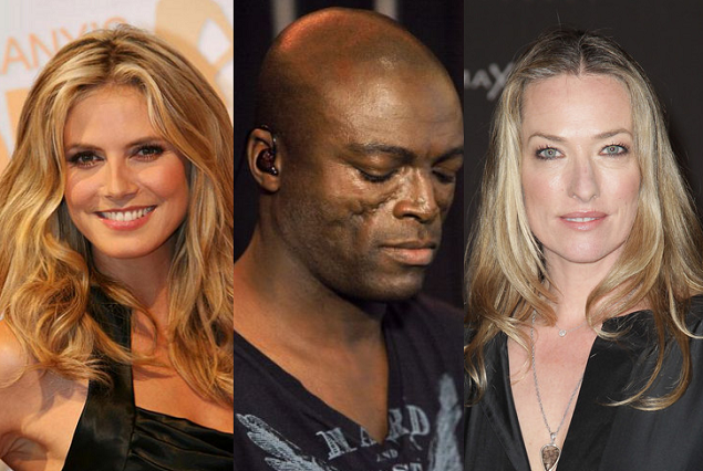 seal, heidi klum and ex girlfriend