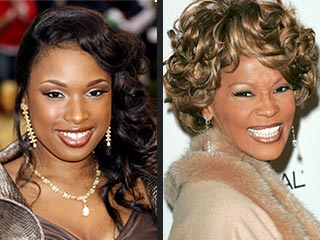 jennifer hudson & whitney houston