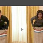 Jokey Joke: Michelle Obama Beats Up on Jimmy Fallon in Fitness Challenge (Video)