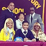 Diddy's Son Justin Signs Letter of Intent to UCLA