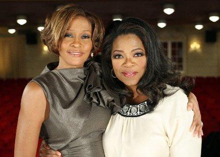 whitney and oprah