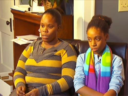 latasha tolbert & daughter