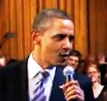 obama singing crop