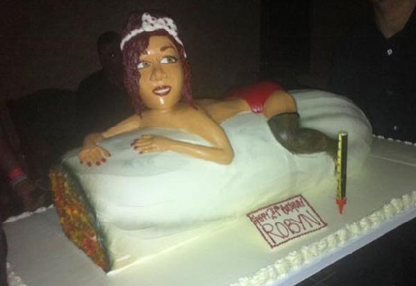 rihanna b-day cake