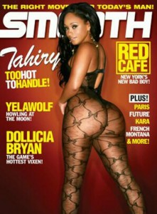 tahiry smooth magazine cover