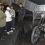 Journalist tour, Harley-Davidson Museum, 121223, Sugar Bear